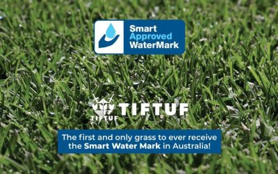 Turf Grass First in the World to Receive Smart Approved WaterMark